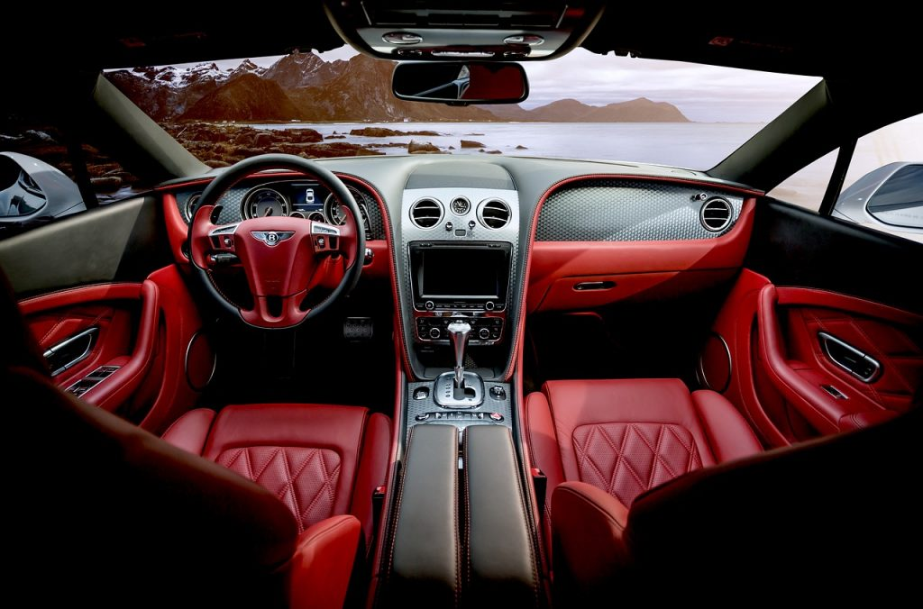 custom Bentley interior