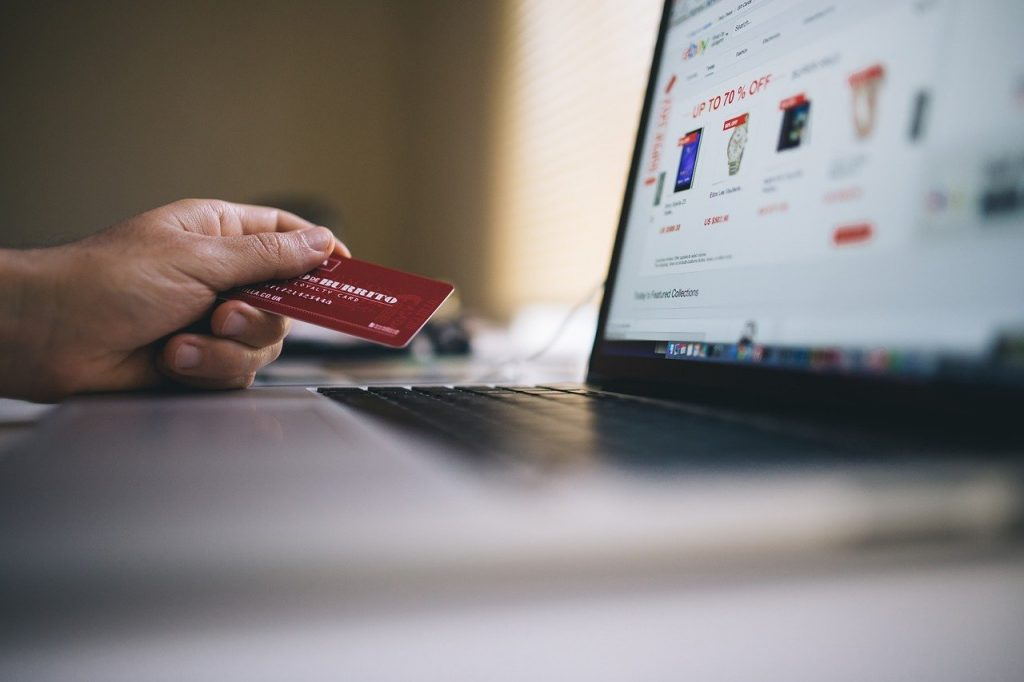 making an online purchase