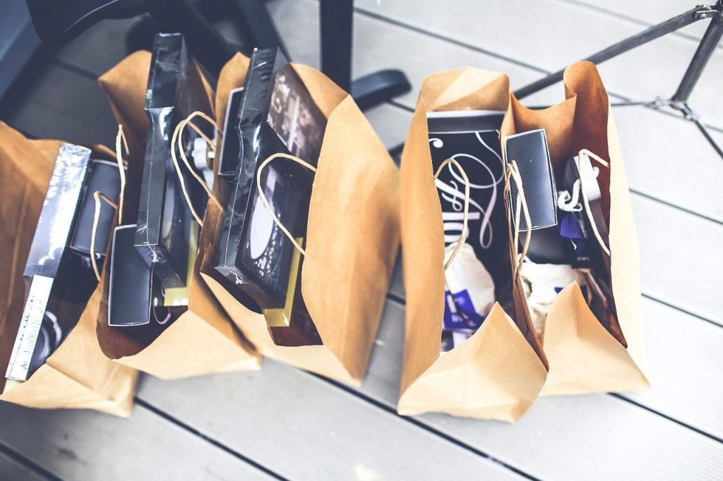 bags of shopping